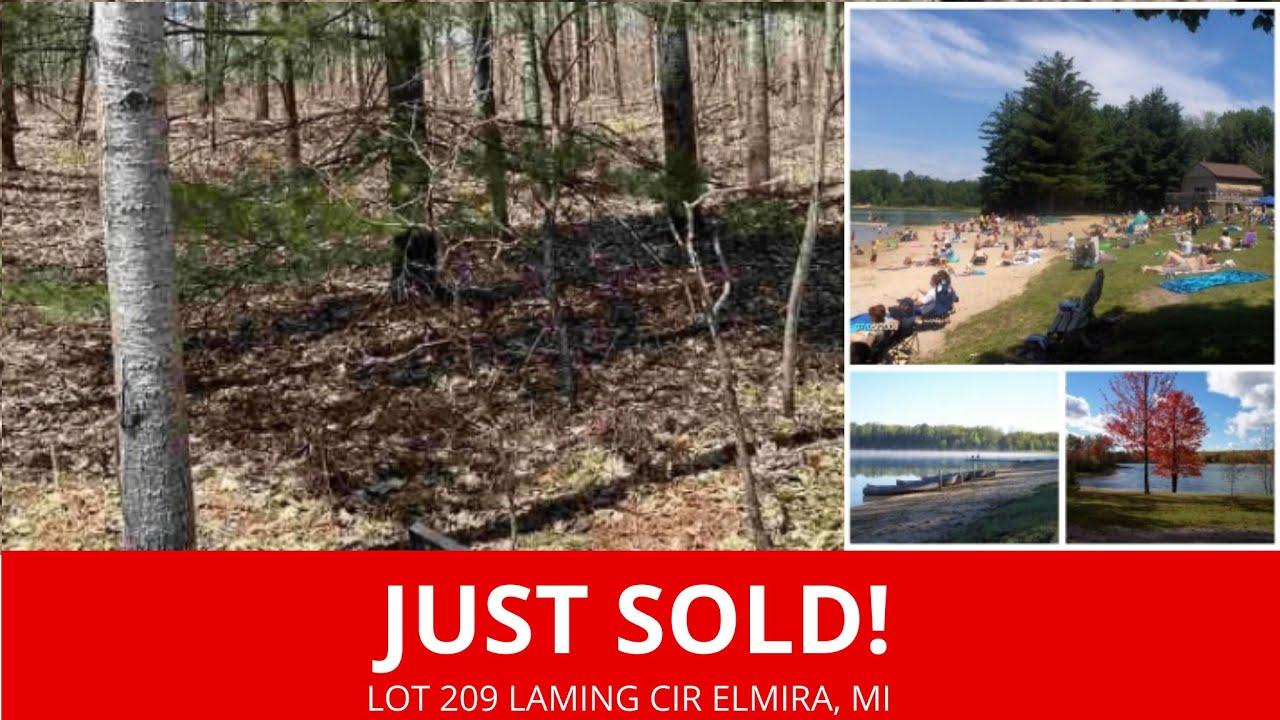 Just Sold By www.WeSellNewYorkLand.com - Lot 209 Laming Cir Elmira, MI - Michigan Land For Sale