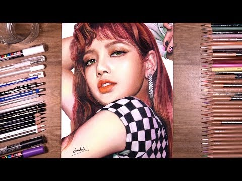drawing-blackpink:-lisa-|-drawholic