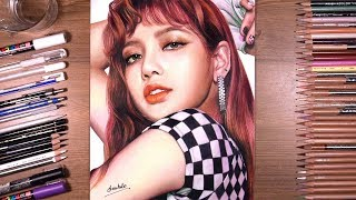 Drawing BLACKPINK: Lisa | drawholic