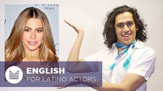 English for Latino Actors