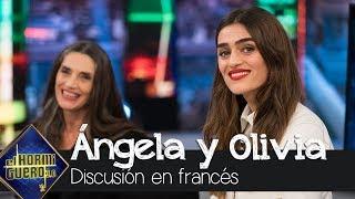 Ángela y Olivia Molina discuten en francés - El Hormiguero 3.0