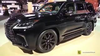 2019 Lexus LX 570 Inspiration Series - Exterior and Interior Walkaround - 2019 Detroit Auto Show