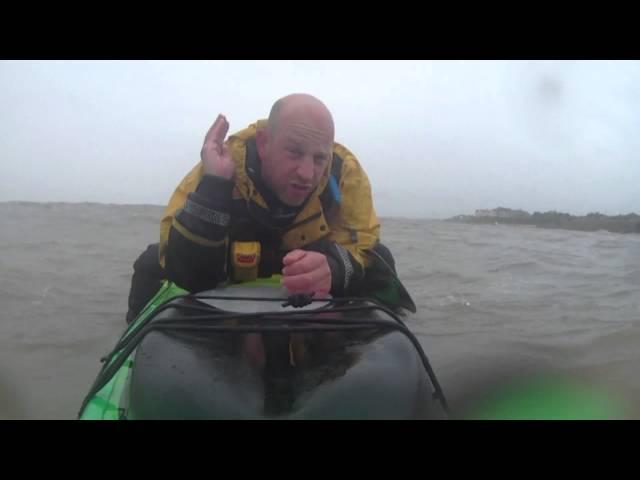 Kayak Fishing: Jackson Cuda 14 in Rough Water