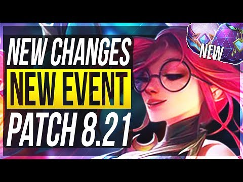 ZOE BUFFS?! NEW FREE LOOT!!! NEW BIG CHANGES & OP CHAMPS Patch 8.21 - League of Legends