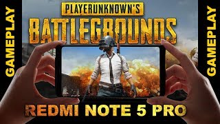 PUBG GAMEPLAY ON REDMI NOTE 5 PRO | PUBG MOBILE GAMEPLAY | PUBG MOBILE ANDROID GAMEPLAY IN HINDI
