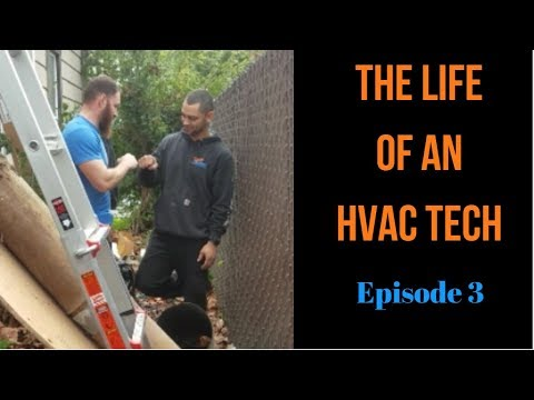 The Life of an HVAC Technician - Episode 3, Sheet Metal Work, Control Boards and a Little Creativity