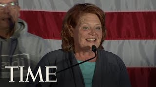 Senator Heidi Heitkamp Makes Concession Speech After Failing To Clinch GOP Senate Control | TIME