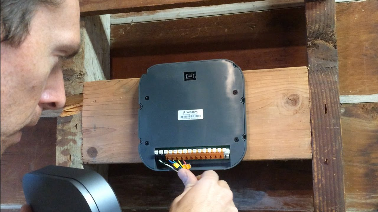 Blossom Smart Sprinkler Controller Install And Setup Youtube Irrigation System Wiring Diagram