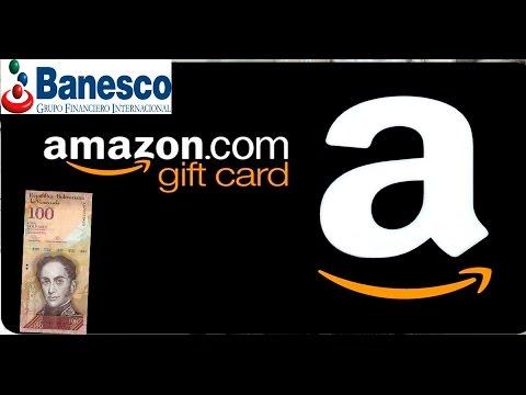 Como comprar (GIFT CARD) EN amazon desde Venezuela con bolivares  2017