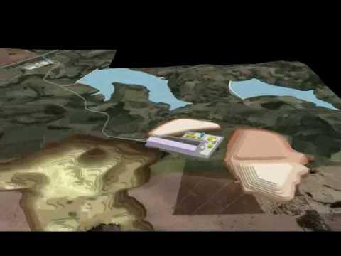 ArcGIS - ArcScene 3D - Mining