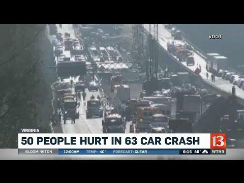 63 Car Crash in Virginia