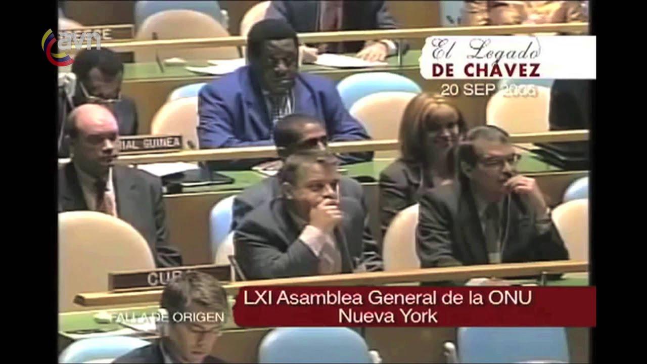 Chávez: Un mundo más justo, multicéntrico y pluripolar