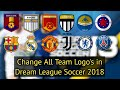 How To Import Opponent Original Team Logo In Drem League Soccer 2018