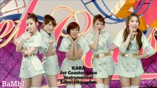 KARA - Jet Coaster Love (Instrumental) NO BACKGROUND VOCALS + LYRICS!!