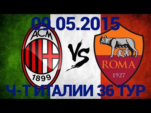 Рома – Милан () Серия А, 19-й тур » Онлайн
