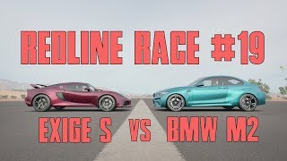 Forza Horizon 3 REDLINE RACE #19 | LOTUS EXIGE S vs BMW M2!