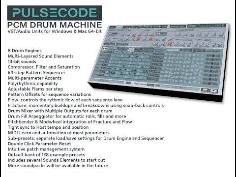 Psychic Modulation: PulseCode PCM Drum Machine