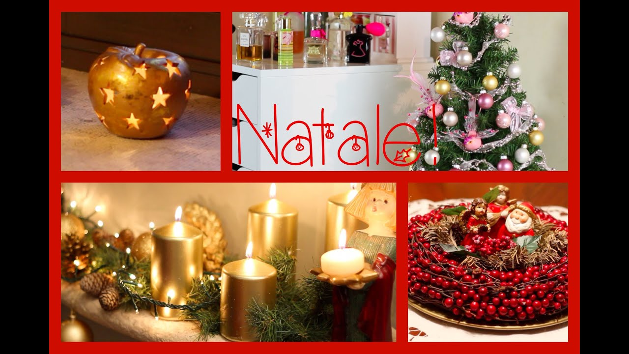 Decorazioni natalizie magicotrucco youtube for Youtube decorazioni natalizie