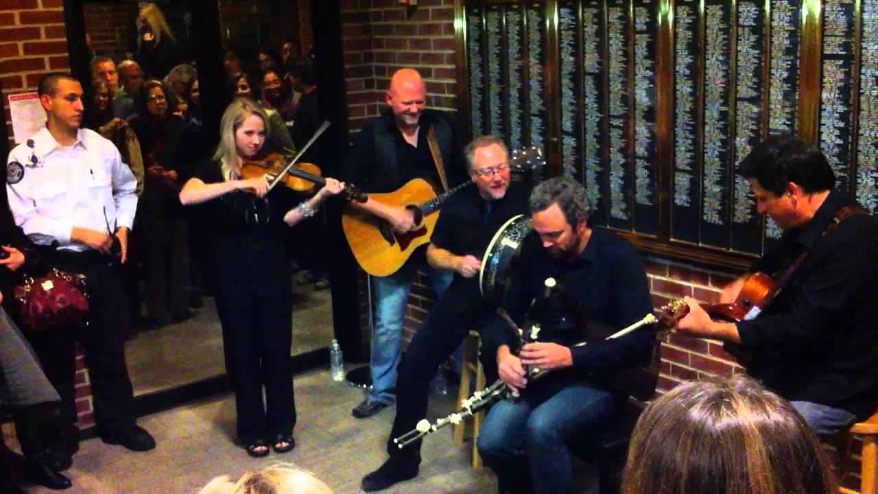 Keith & Kristyn Getty's band after Moody Bible Institute show