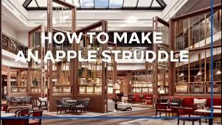 Making an Apple Strudel at Hilton Vienna Park
