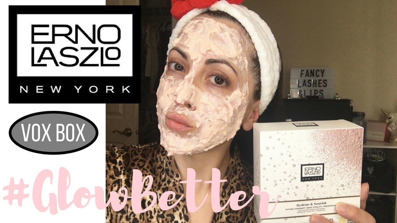 erno laszlo hydra therapy skin vitality mask review