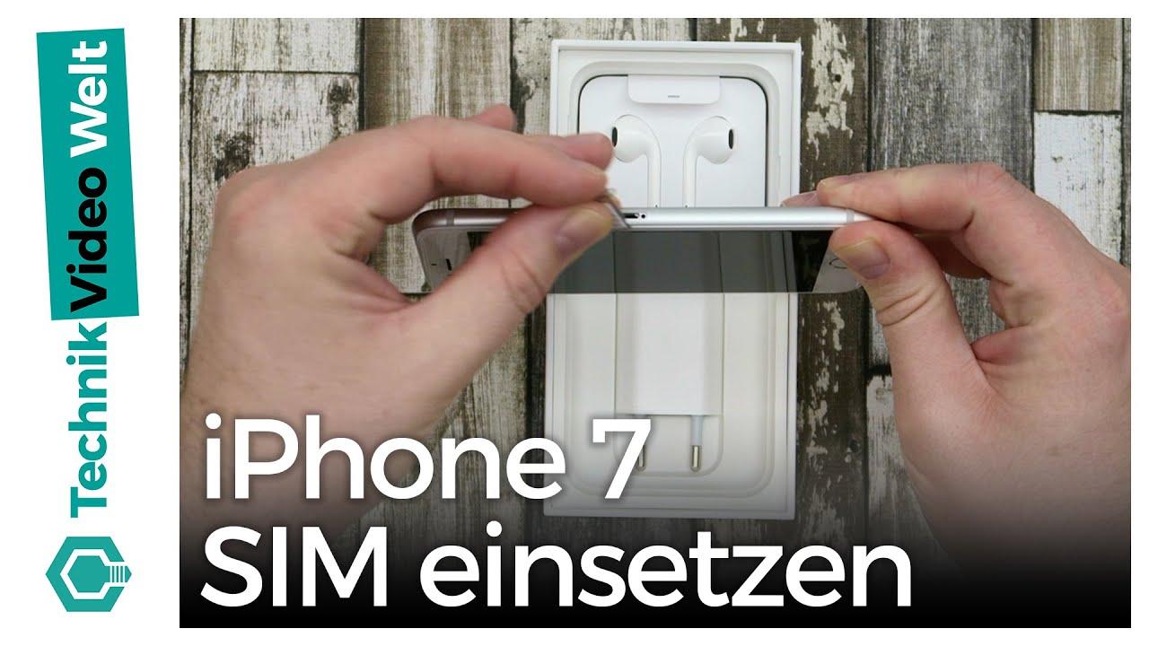 Iphone Sim Karte Einsetzen.Iphone 7 Sim Einlegen