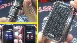 Difference between Smok G Priv 2 Luxe Editon and G Priv 2 Kit | G Priv 2 Luxe unboxing