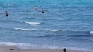 kuşadası kadınlar plajı Boğulma anı ve kurtarma