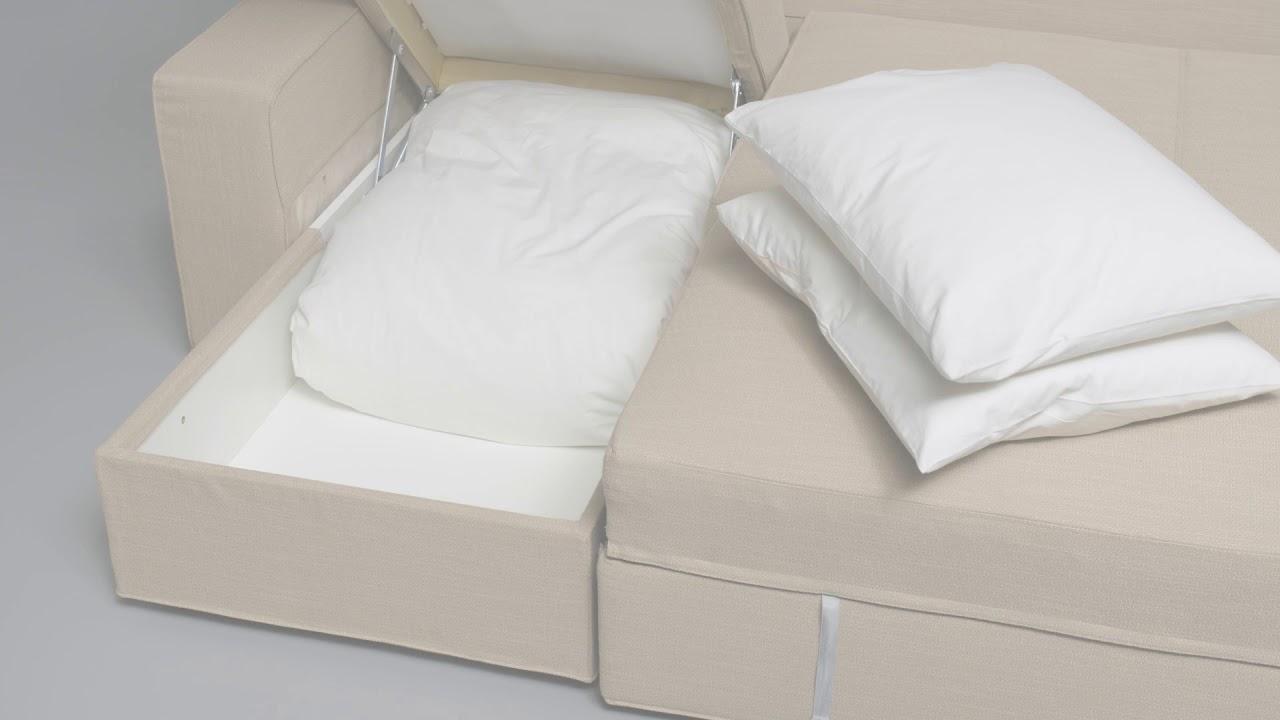 ikea vilasund convertible avec m ridienne youtube. Black Bedroom Furniture Sets. Home Design Ideas