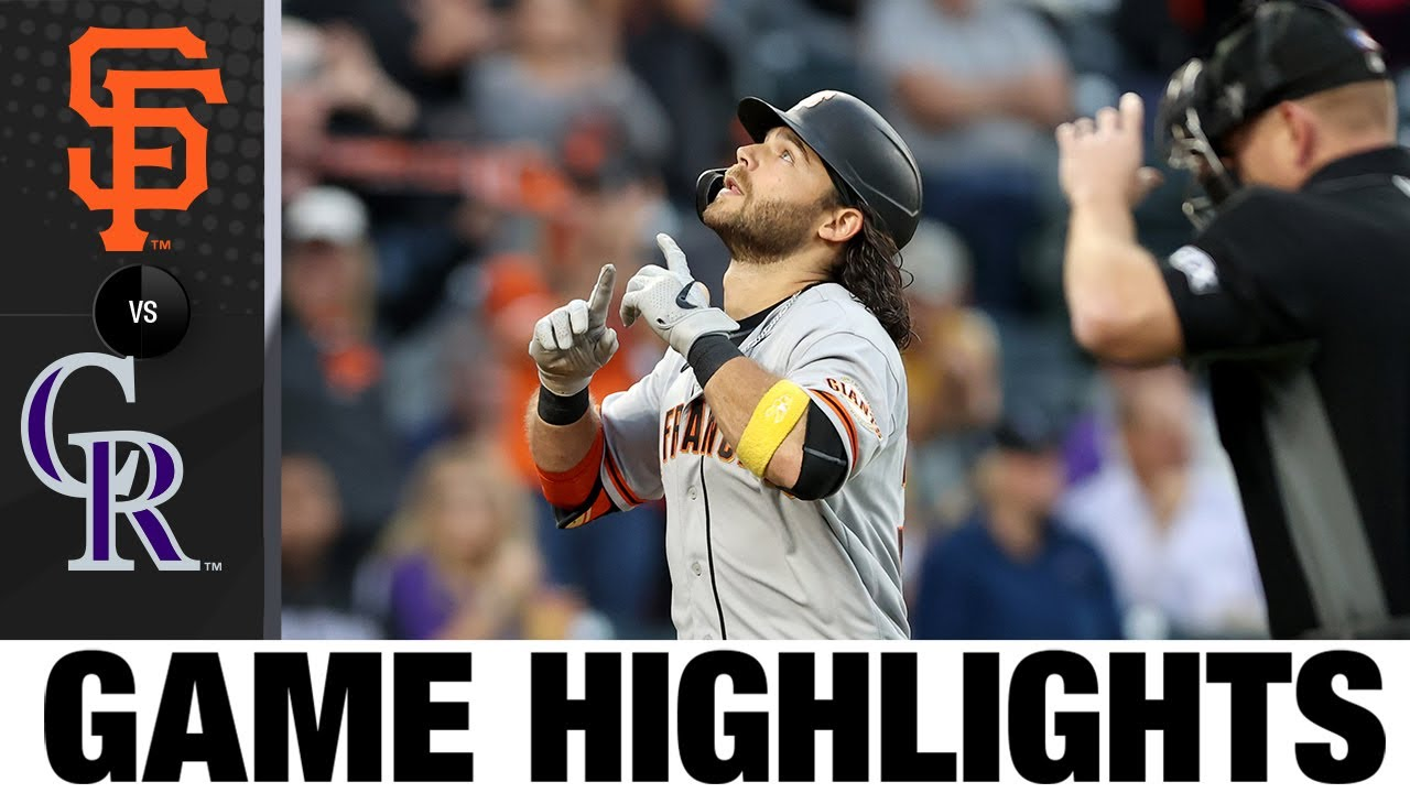 Download Giants vs. Rockies Game Highlights (9/24/21) | MLB Highlights