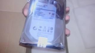 UNBOXING - Seagate barracuda 2TB SATA 3 hard drive