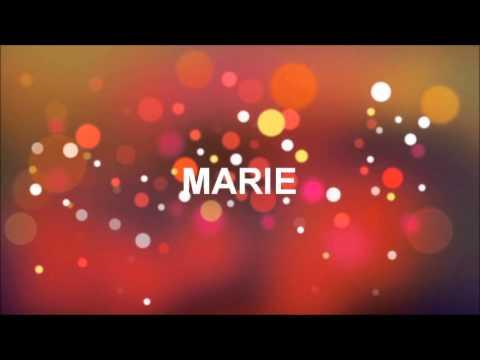 grattis marie GRATTIS PÅ FÖDELSEDAGEN MARIE   YouTube grattis marie