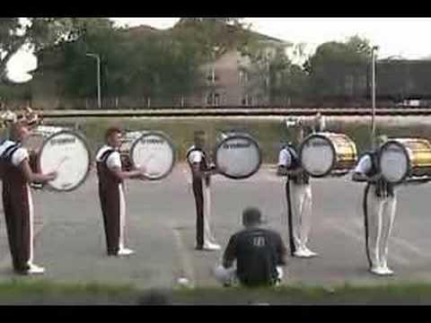 2006 Cadets Bass Drum Line