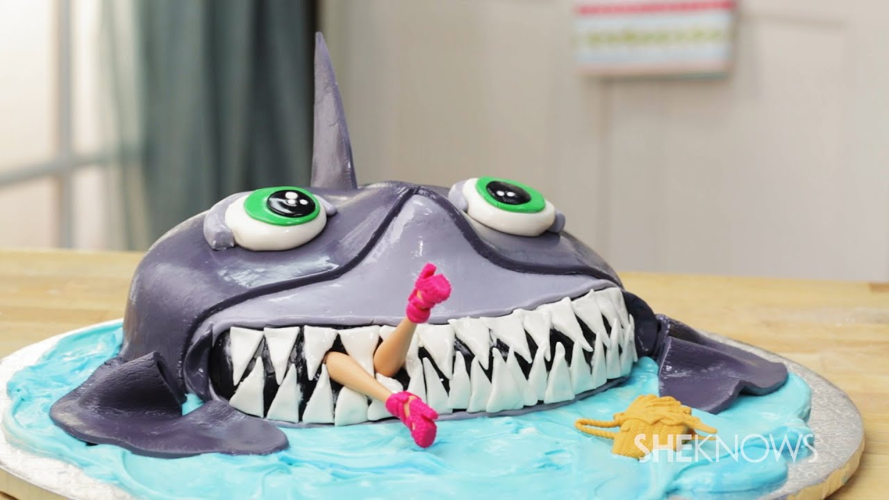 How To Make A Shark Cake Step By Step