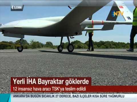 NTV Ana Haber: Bayraktar Taktik IHA 2. Teslimat Haberi