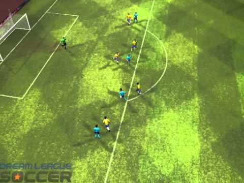 Dream Soccer Replay - Dismantling Brazil Defense