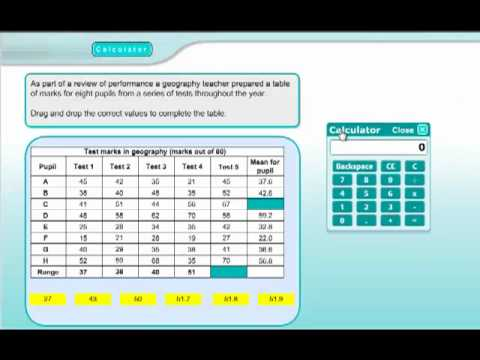 QTS Numeracy Practice Test 4 (Calculator Section)