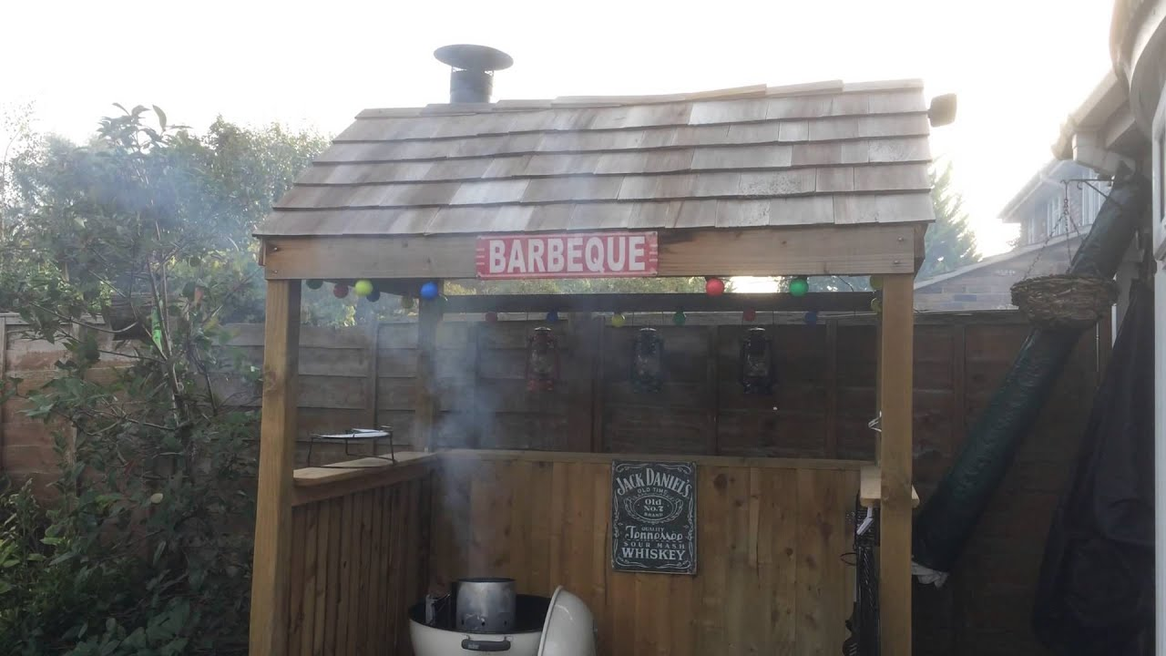 Bbq Shelter Smoke Youtube