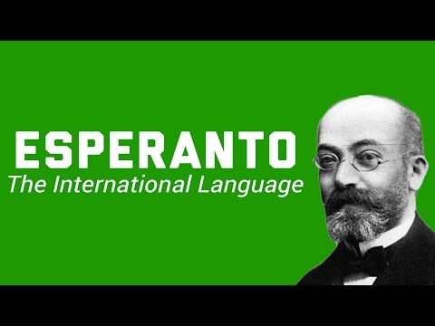 Esperanto: The International Language