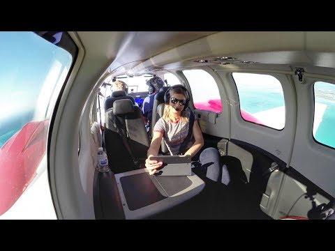 Flying a Brand New Baron! - EPIC IFR Flight / Fishing VLOG