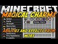 Minecraft Mods: MAGICAL CHARMS MOD (1.6.4) - ABILITIES AND EFFECTS FROM MOBS