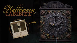 Halloween Miniature Cabinet | Witchcraft and Wizardry Altar Box