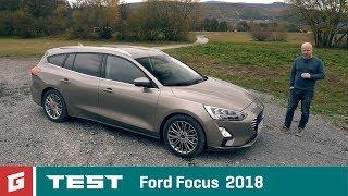 Ford Focus Kombi - 1,5 TDCi -A8 - TEST - GARÁŽ.TV - Rasťo Chvála