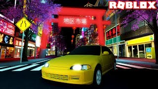 NEW ROBLOX RACING GAME in JAPAN! (Midnight Racing: Tokyo) #1