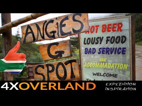 FINDING ANGIE'S G-SPOT. Road Trip Adventure in South Africa