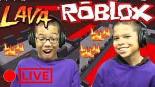ROBLOX Gameplay The Floor Is Lava Challenge