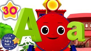 ABC Train | +30 Minutes of Nursery Rhymes | Learn With LBB | #howto