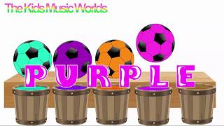 The Kids Music Worlds - learn colors for kids