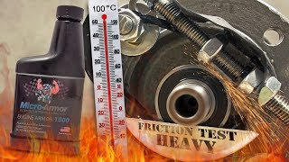 Micro-armor 1000 Dodatki do oleju Test Tarcia 100°C 2kg