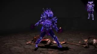 Path of Exile: Purple Necrotic Armour